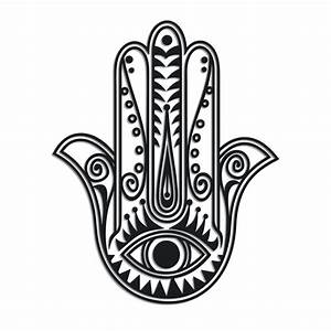 Hamsa protection symbol | Patterns & Stencils | Pinterest