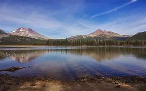 wallpapers: South Sister Sparks Lake Wallpapers