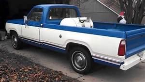 1978 Dodge D100 Truck On Propane