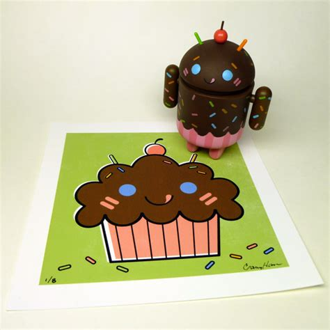 android cupcake gary ham s android cupcakes plastic and plush