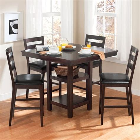 Walmart Dining Table 4 Chairs by Canopy Gallery Collection 5 Counter Height Dining