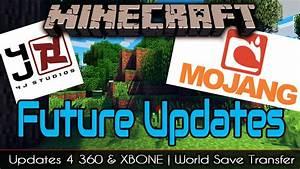 Minecraft Xbox One  U0026 360 Future Updates