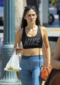 Isabelle Fuhrman In Tights At A Farmers Market In La Gotceleb