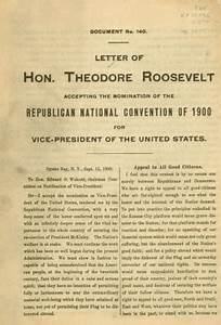 theodore roosevelt With the letters of theodore roosevelt