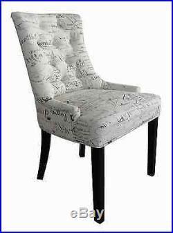 chaise fauteuil salle manger jeu de 2 set chaise salle à manger salon avec accoudoir