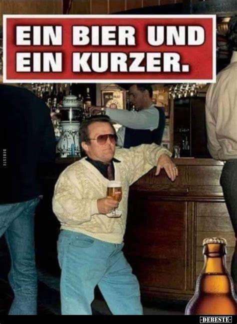 ein bier und ein kurzer lustige bilder sprueche witze