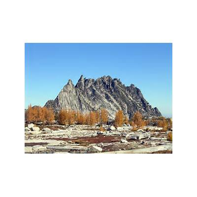 Prusik Peak from Enchantment Basin : Photos Diagrams