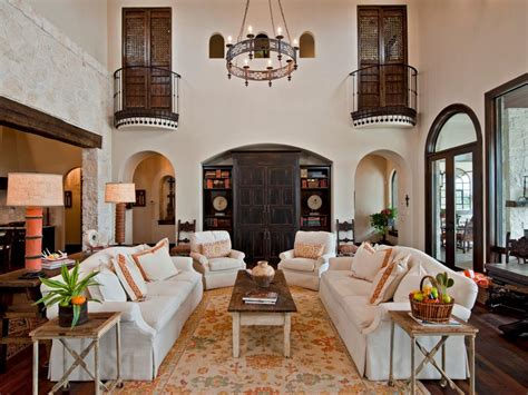 Elegant Spanish Style Living Room  Doherty Living Room X