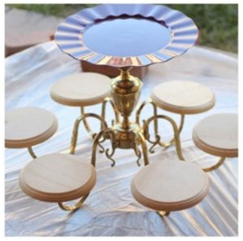 diy chandelier cake and cupcake stand simply tale