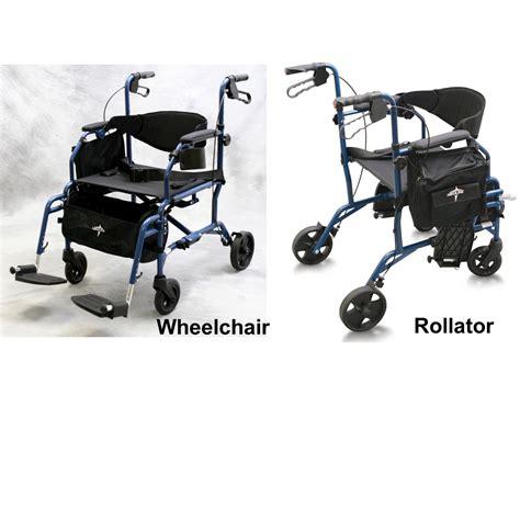 medline excel translator combination rollator wheelchair
