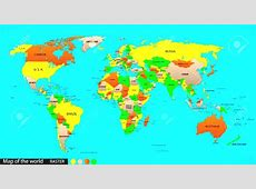 Geography clipart world country Pencil and in color