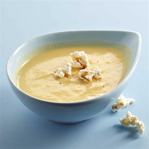 mais cuisine velouté jaune de maïs une recette soupe cuisine le