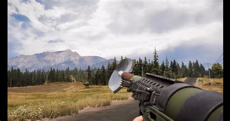 shovel launcher  cry   ridiculous  weapon