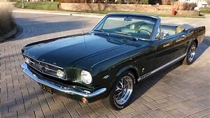 1965 Ford Mustang Factory GT Convertible Highly Optioned Matching #'s DOCUMENTED - YouTube