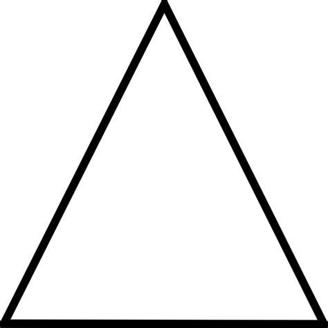 triangular form image vectorielle gratuite triangle g 233 om 233 trique forme
