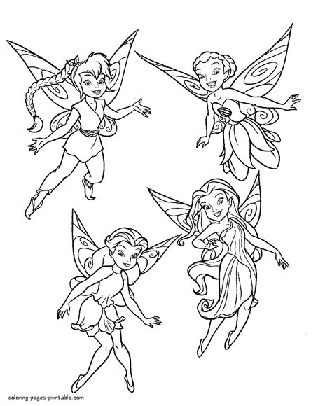 Fairies printable coloring pages COLORING PAGES