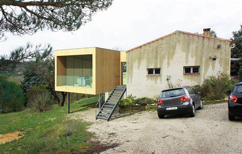 Extension Maison Sur Pilotis Extension D Une Maison En Bois Sur Pilotis A Aix En