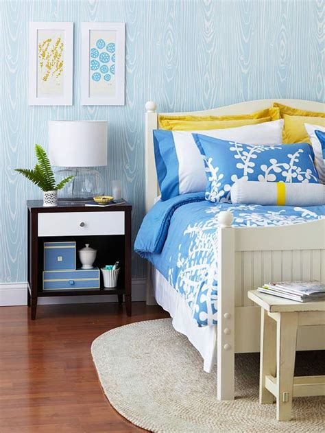 blue and yellow bedroom construtora hebrom e muram decora 231 227 o de quarto em azul 4801