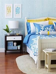 Tapete Holzoptik Blau : frisch und chic mit blau tolle ideen f r die moderne dekoration ~ Sanjose-hotels-ca.com Haus und Dekorationen