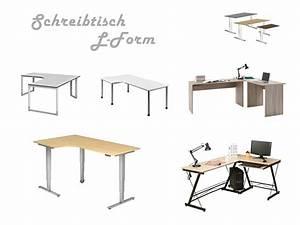 Schreibtisch L Form : schreibtisch mit l form ~ Whattoseeinmadrid.com Haus und Dekorationen