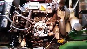 John Deere 322 Carburetor Cleaning And Two Cold Starts