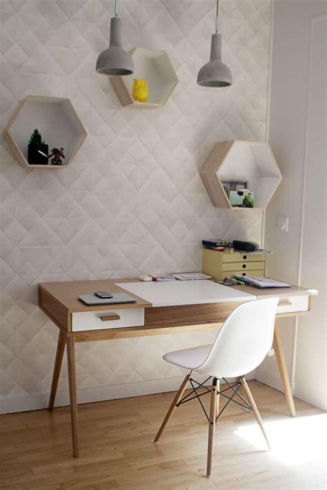 un bureau décoration d 39 un coin bureau à l 39 esprit scandinave dans une