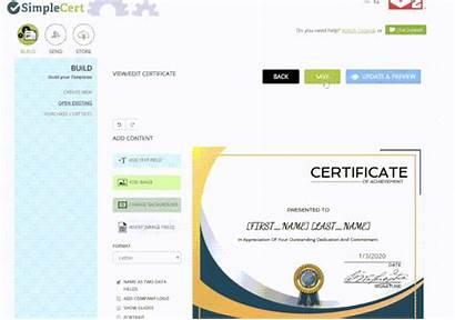 Certificate Help Instead Want