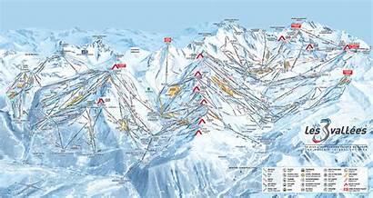 Ski France Map Alps French Resorts Valleys