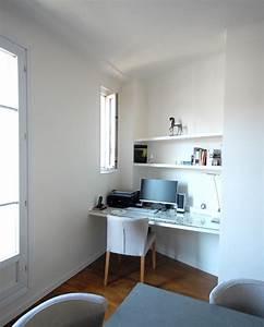 67 m2 a optimiser With coin bureau dans salle a manger