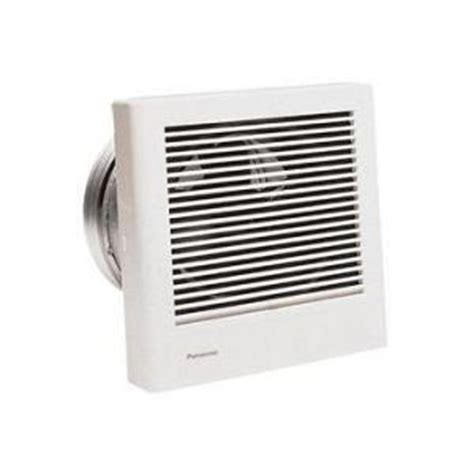 Exhaust Fans For Bathrooms Home Depot by Panasonic Whisperwall 70 Cfm Wall Exhaust Bath Fan Energy
