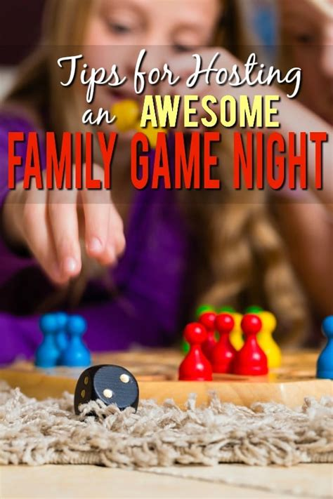 7 Tips For Hosting A Rocking Family Game Night  The Gracious Wife