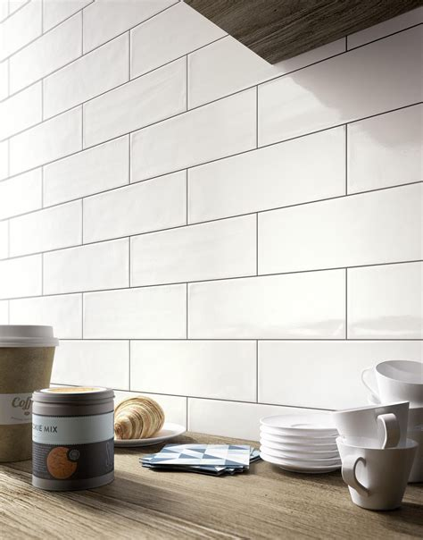 wall tiles kitchen backsplash brick glossy ceramic wall coverings for kitchens and 6965