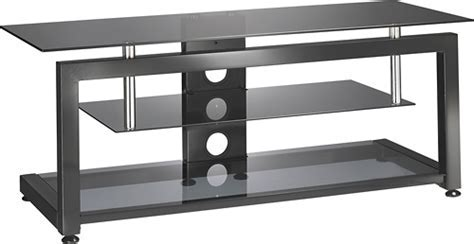 """Insignia TV Stand for Most Flat Panel TVs Up to 55"""" Black"""