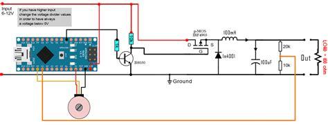 feedback buck converter arduino code