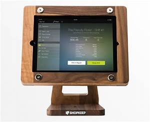 Wooden IPad Stand From Freeform Wordworks ShopKeep Blog