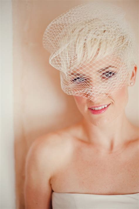 93 Best Images About Short Bridal Hairstyles On Pinterest