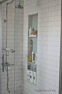 Bathroom Tile Shower Niche