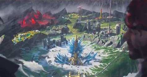 apex legends     map called worlds edge