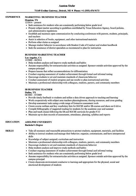 11-12 Resume Samples for Teachers | lascazuelasphilly.com