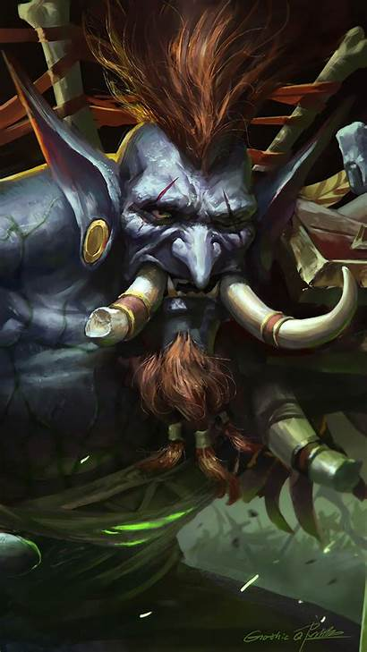 Wow Troll Fantasy 4k Warcraft Vol Jin