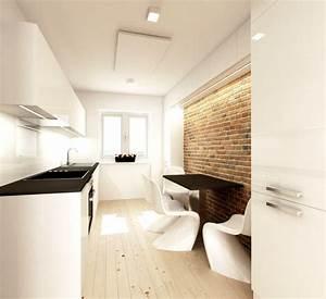 Reconstruction Et Am U00e9nagement Int U00e9rieur D U0026 39 Un Petit Appartement De Cubica Studio  U2014 D U00e9co Id U00e9es Blog