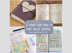 Easy to Create Bullet Journal Ideas and the
