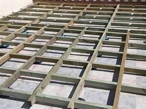 Terrasse Bois Sur Plot Beton : faire une terrasse en bois sur plot ~ Premium-room.com Idées de Décoration