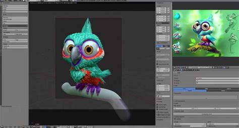 Blender 3d : Creating A Bird In Blender