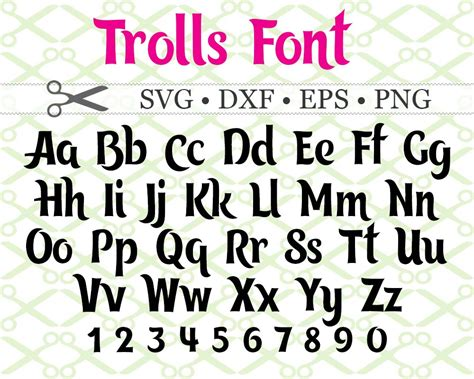 svg fonts kids fonts cartoon fonts monogramsvgcom  svg designs