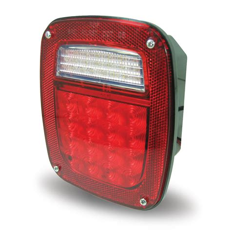 red stop turn tail led light  jeep mid size trucks