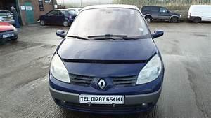 Renault Scenic 2005 : 2005 renault megane scenic bootlid tailgate paint code dv460 blue breaking ebay ~ Gottalentnigeria.com Avis de Voitures