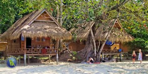Picture Of Beachfront Bungalows At The Southern Part Of