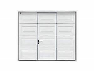 parfait porte de garage sectionnelle jumele avec porte With porte de garage sectionnelle jumelé avec porte garage blindée