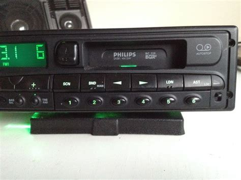 Philips Rc228 Stereo Car Radio/cassette Player